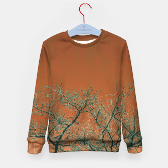 Miniaturka Tree branches 2 Kid's sweater, Live Heroes
