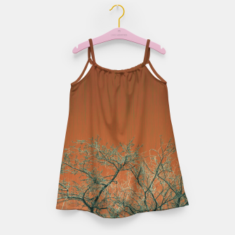 Miniaturka Tree branches 2 Girl's dress, Live Heroes