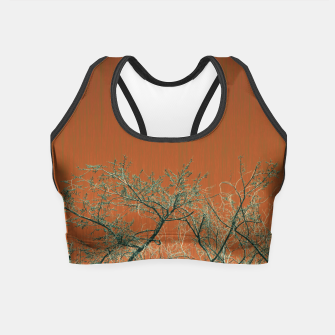 Miniaturka Tree branches 2 Crop Top, Live Heroes