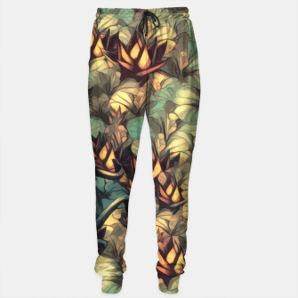 Thumbnail image of The Skull the Flowers and the Snail Warm Cotton sweatpants, Live Heroes