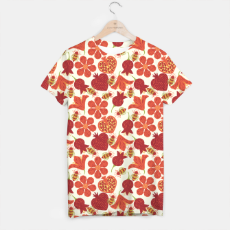 Imagen en miniatura de Pomegranate Honey T-shirt, Live Heroes