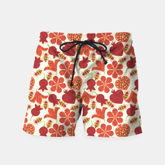 Imagen en miniatura de Pomegranate Honey Swim Shorts, Live Heroes