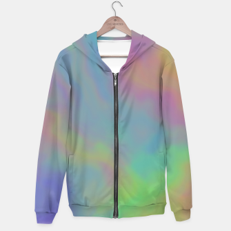 Thumbnail image of Mirage of Dreams Cotton zip up hoodie, Live Heroes