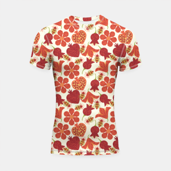 Pomegranate Honey Shortsleeve rashguard imagen en miniatura
