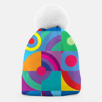 Thumbnail image of Geometric Figures in color Beanie, Live Heroes
