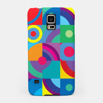 Thumbnail image of Geometric Figures in color Samsung Case, Live Heroes