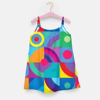 Thumbnail image of Geometric Figures in color Girl's dress, Live Heroes