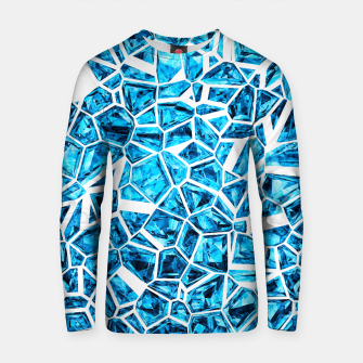 Miniatur Shattered Blue Crystals Cotton sweater, Live Heroes
