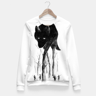GOOD WOLF HUNTING Woman cotton sweater thumbnail image