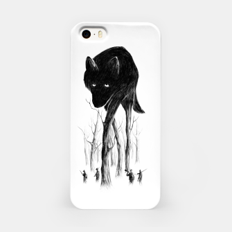 Miniature de image de GOOD WOLF HUNTING iPhone Case, Live Heroes