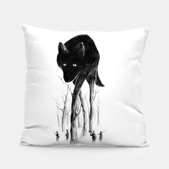 GOOD WOLF HUNTING Pillow thumbnail image