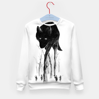 GOOD WOLF HUNTING Kid's sweater thumbnail image