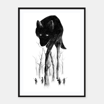 GOOD WOLF HUNTING Framed poster thumbnail image
