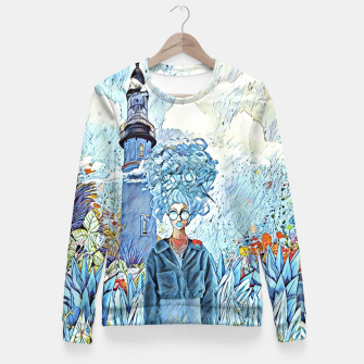 Thumbnail image of Lighthouse Woman cotton sweater, Live Heroes