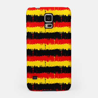 Thumbnail image of Germany Skyline Flag Repeating German Flag Red Samsung Case, Live Heroes