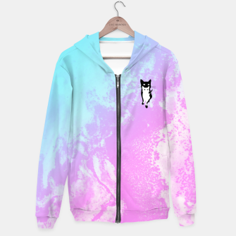 Thumbnail image of CCAATT Cotton zip up hoodie, Live Heroes