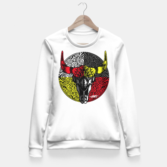 Thumbnail image of Medicine Shield  Woman cotton sweater, Live Heroes