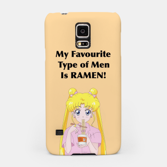 Thumbnail image of Sailor Moon Ramen Samsung Case, Live Heroes