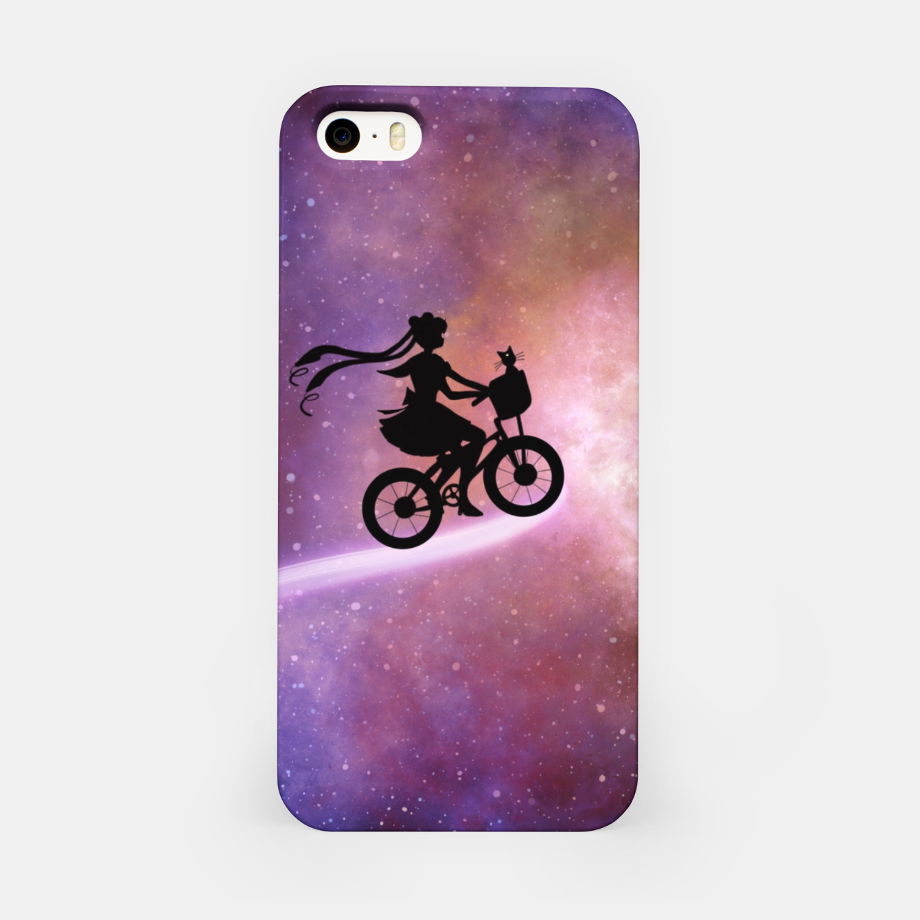 Foto Nebula Sailor moon  iPhone Case - Live Heroes