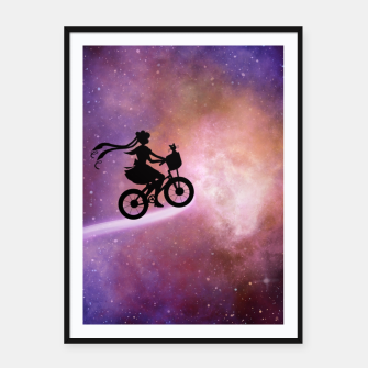 Thumbnail image of Nebula Sailor moon  Framed poster, Live Heroes