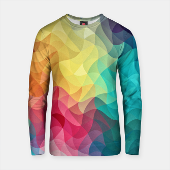 Thumbnail image of Abstract Color Wave Flash Cotton sweater, Live Heroes