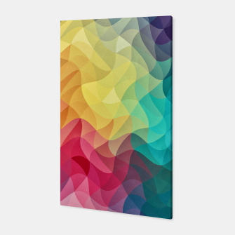 Thumbnail image of Abstract Color Wave Flash Canvas, Live Heroes