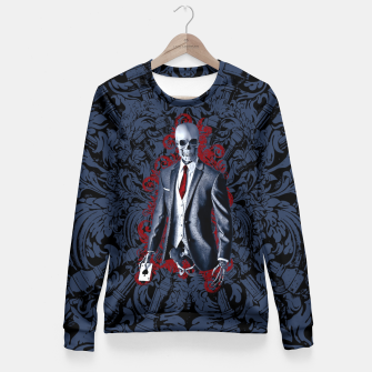 Thumbnail image of The Gambler Woman cotton sweater, Live Heroes