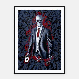 Thumbnail image of The Gambler Framed poster, Live Heroes