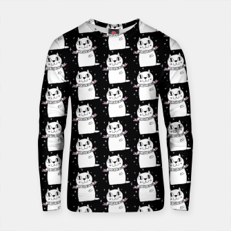 Thumbnail image of Go Cats! Yay Cats! Cotton sweater, Live Heroes