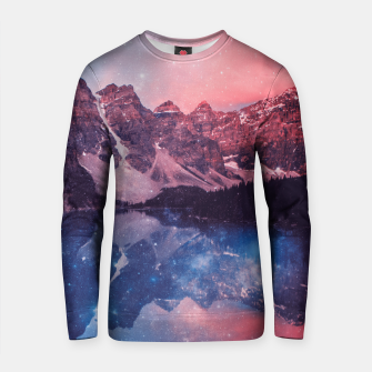 Thumbnail image of Mountainous Space Cotton sweater, Live Heroes