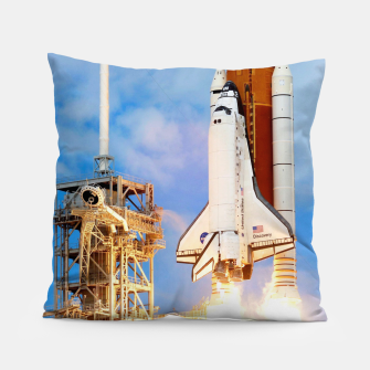 Thumbnail image of DISCOVERY LAUNCH Pillow, Live Heroes