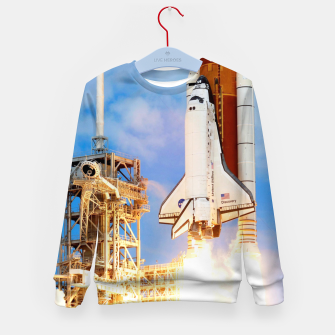 Thumbnail image of DISCOVERY LAUNCH Kid's sweater, Live Heroes