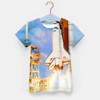 Thumbnail image of DISCOVERY LAUNCH Kid's t-shirt, Live Heroes