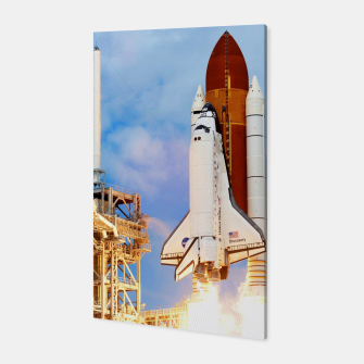 Thumbnail image of DISCOVERY LAUNCH Canvas, Live Heroes