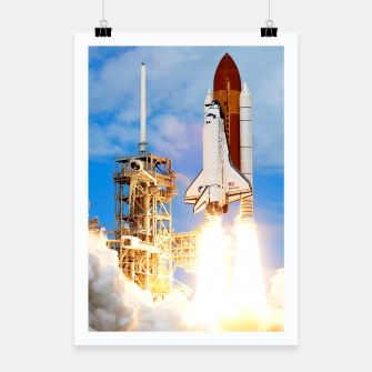 Thumbnail image of DISCOVERY LAUNCH Poster, Live Heroes