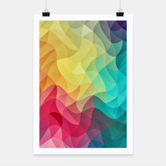 Miniature de image de Abstract Color Wave Flash Poster, Live Heroes