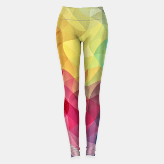 Thumbnail image of Abstract Color Wave Flash Leggings, Live Heroes