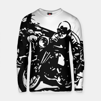 Thumbnail image of BUILT FOR SPEED-BOARD RACING Cotton sweater, Live Heroes