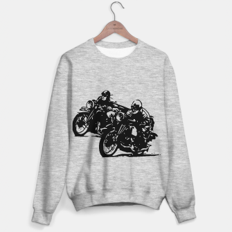 Thumbnail image of BUILT FOR SPEED-BOARD RACING Sweater regular, Live Heroes