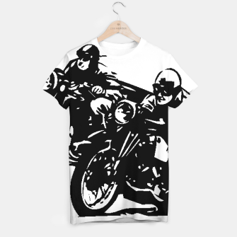 Thumbnail image of BUILT FOR SPEED-BOARD RACING T-shirt, Live Heroes