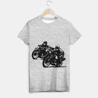 Thumbnail image of BUILT FOR SPEED-BOARD RACING T-shirt regular, Live Heroes