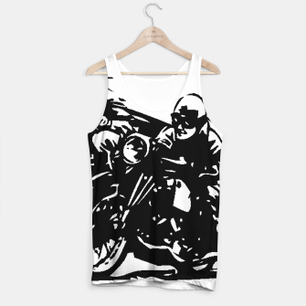 Thumbnail image of BUILT FOR SPEED-BOARD RACING Tank Top, Live Heroes
