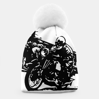 Thumbnail image of BUILT FOR SPEED-BOARD RACING Beanie, Live Heroes