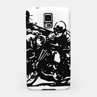 Thumbnail image of BUILT FOR SPEED-BOARD RACING Samsung Case, Live Heroes