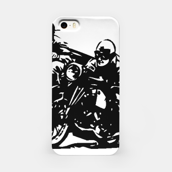 Thumbnail image of BUILT FOR SPEED-BOARD RACING iPhone Case, Live Heroes