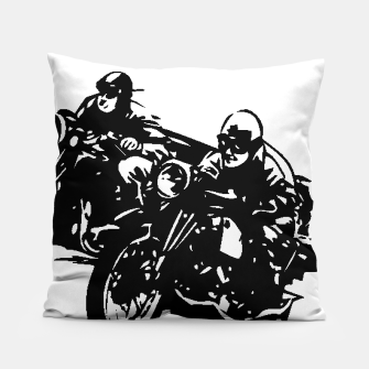 Thumbnail image of BUILT FOR SPEED-BOARD RACING Pillow, Live Heroes