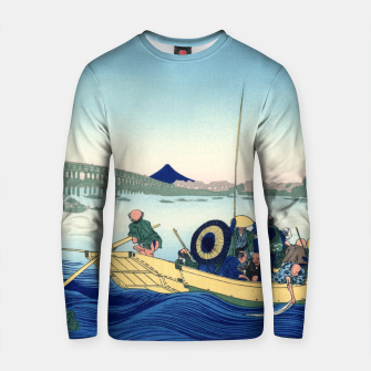 Thumbnail image of Fuji Sunset Cotton sweater, Live Heroes