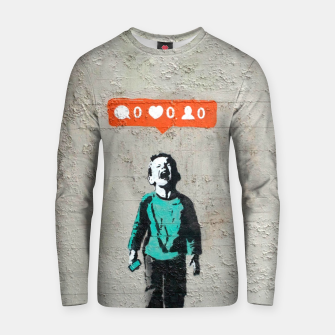 Thumbnail image of New World Struggle Cotton sweater, Live Heroes