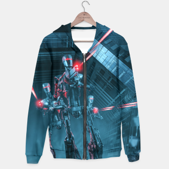 The Assault Cotton zip up hoodie thumbnail image