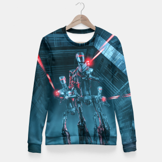 Thumbnail image of The Assault Woman cotton sweater, Live Heroes
